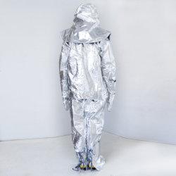 Nuevo papel de aluminio Fire-Proof traje, ropa ignífuga