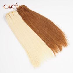 L'Indonésie matières Virgin Cheveux humains Handtied faite de la trame des extensions de cheveux