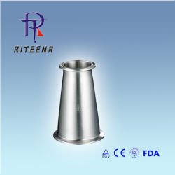 Collier en acier inoxydable sanitaires hygiéniques concentriques et excentriques mixte réducteur Nm047221