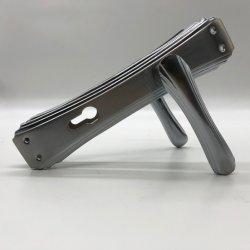 Neuer Aluminiumtür-Griff auf Eisen-Platte 722-077
