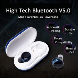 True беспроводной связи Wireless Bluetooth 5.0 Tws стереонаушники для спорта и музыки/бизнеса