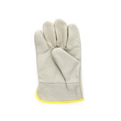 Короткое замыкание в реальном кожаные перчатки безопасности стороны защитные перчатки