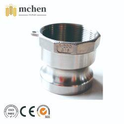 Roestvrijstalen Camlock-koppeling DIN2828 MIL-A-A 59326-leidingfitting