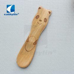 Commerce de gros de la crème glacée Mini bambou cuillère en bois