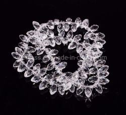 Teardrop perles de verre Pendentifs Perles de verre en cristal Waterdrop desserrés