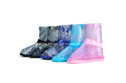 Cinq couleurs imprimé des chaussures en PVC