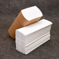 Venta caliente múltiples toalla de papel blanco impreso personalizado mano toalla de papel