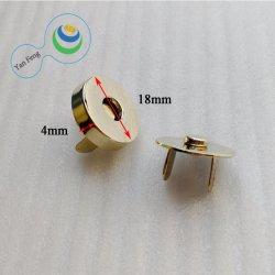 tasto a schiocco rotondo del magnete del forte ferro di 18*4mm per gli accessori di Chothing del sacchetto