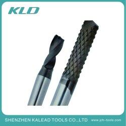 Personalizar Diamond Fresa para ferramentas fresadora CNC cortar madeira e peças metálicas