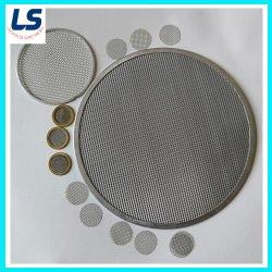 Filtro de óleo de malha de Disco em Aço Inoxidável Material ou Material de malha de arame de Latão