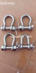 Visser le collier de la broche Manilles en acier inoxydable