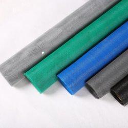 Fire-Proof 18X16 de fibra de vidrio recubierto de PVC de compensación de la pantalla de insectos mosquiteros de fibra de vidrio