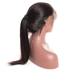 Реми волосы прямые бразильского кружева передней человеческого волоса парики с природными визирной линии