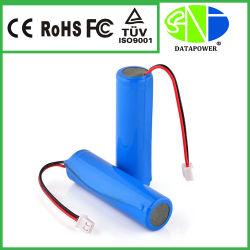 製造業者の製造者の非常灯のための円柱18650のリチウム電池のパック