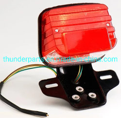 Accessoires moto lampe de feu arrière de la queue pour CG125 150 200