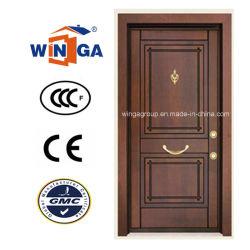 南アフリカ共和国の機密保護鋼鉄MDFの木製のベニヤの装甲ドア(W-T05)