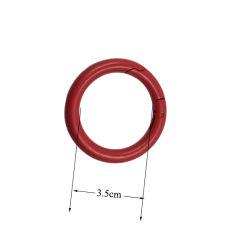 Индивидуальные мешки преднатяжитель плечевой лямки ремня металлические уплотнительное кольцо (внутренний диаметр: 3.5cm)