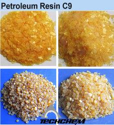 Resina de petróleo C9, para uma mistura de borracha