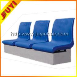 Blm-1411 Madera barroco asientos traseros Venta caliente Facrory fútbol bajo las mesas y sillas plegables de plástico acolchado del asiento del estadio