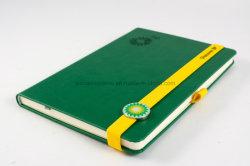 Het Notitieboekje van de Agenda van de douane met Elastiekje, Notitieboekje Lanybook