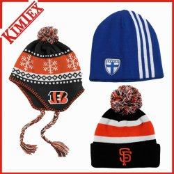 Tampa Jacquard acrílico inverno Hat, Gameday brinde de tricotar chapéu de malha