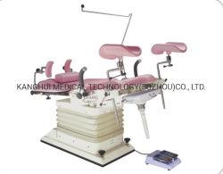 Hôpital médical de l'examen d'exploitation des femmes de la clinique de gynécologie chaise avec ressort à gaz ajusté Section arrière
