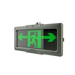 مصباح LED الخاص بمؤشر إخلاء النار الخاص بـ IP66 من OEM ضوء الخروج في حالة الطوارئ