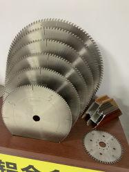Aluminiumausschnitt Sägeblatt-flachen Strichleiter-ZahnSpecial für Strangpresßling-Aluminium-Profile