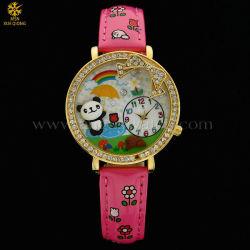 Dame Diamond Watch Alloy, het Horloge van de Diamant van Bergkristallen