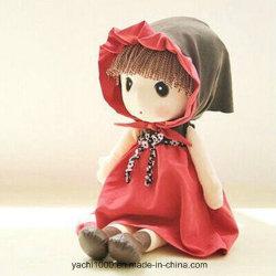 卸売によって詰められる柔らかいプラシ天のぼろきれのアメリカ人は女の子の赤ん坊のおもちゃの人形をからかう