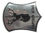 Metall Beschriften Steel Badge 3D Embossed Soft Tin/Pewter/Stannum Metal Wine Label/Metal Bottle Labels