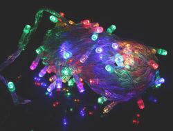 マルチカラー70のLEDのクリスマスの妖精のパーティー文字列ホリデーライト、防水10メートル