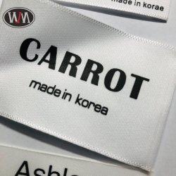 El mejor precio personalizado de alta calidad de impresión Accesorios de ropa de etiqueta lavable