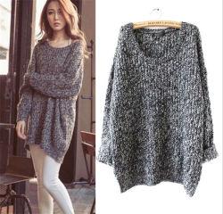 Высокое качество женщин Pullover ослабление нерегулярных Пуловер из перемычки