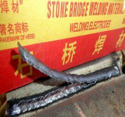 Pont de pierre, héros J38.12 Golden électrode de soudure de qualité