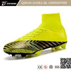 أحدث حذاء Flyknit وPU Upper Soccer Boots للأطفال والنساء والرجال. 20f7045