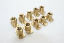Kundenspezifische Kupfer Drehteile für Montage / CNC-Bearbeitung Hersteller