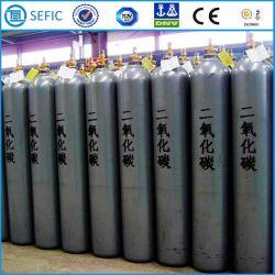50L de Aço Sem Costura Industrial do cilindro de dióxido de carbono (EN ISO9809)