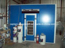 Câmara de pintura de baixo preço / sala de mistura de tintas com cabina de pintura