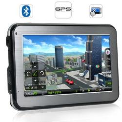 4.3 pouces mini GPS pour voitures - gratuit Igo Cartes (L333)