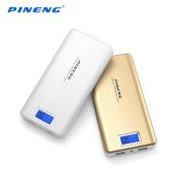 Pineng Pn-999 20000 mAh универсальный портативный распоряжении дурального мешка полость Банка питания USB зарядное устройство с цифровой ЖК-дисплей
