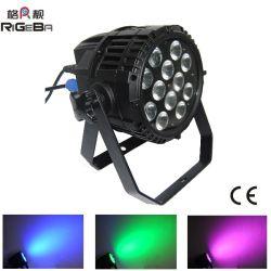 12*10W RGBW 4NO1 Alta Potência LED impermeável IP65 PAR pode