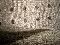 طباعة القطن تيري جيرسي باستخدام قماش مرتهن TPE