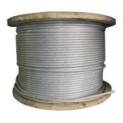 Acciaio filo elastico DIN 17223 acciaio Produttore acciaio ad alto tenore di carbonio Fune metallica in acciaio per cuscinetto a serbatoio e funivia