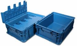 Contenitore d'impilamento di plastica di buona qualità