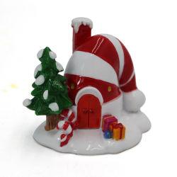 Série de Natal Decoração artesanato de resina para venda