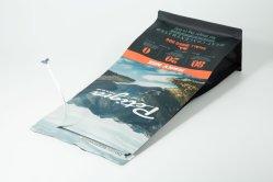 أكياس تغليف بلاستيكية مخصصة قابلة لإعادة التدوير تستخدم للحامل شاي بكيس لأعلى