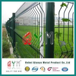 Qym溶接された網の塀によって曲げられる溶接された鉄条網のパネル