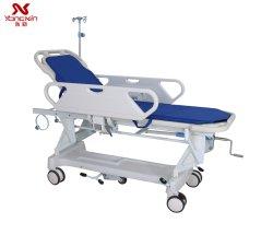 Yxz-E-1 手動病院では、 ABS 患者移動トロリーストレッチャーをに使用しました マットレスと IV ポール付きの緊急用ルーム