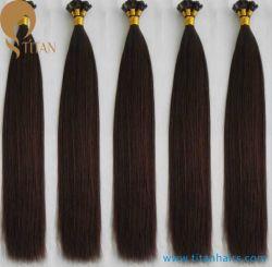 100%Реми человеческого волоса итальянский кератин волос с плоским наконечником Extensions